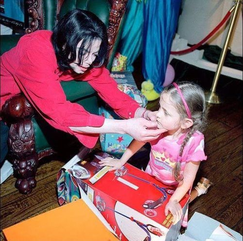 Imagem de michael jackson and paris jackson