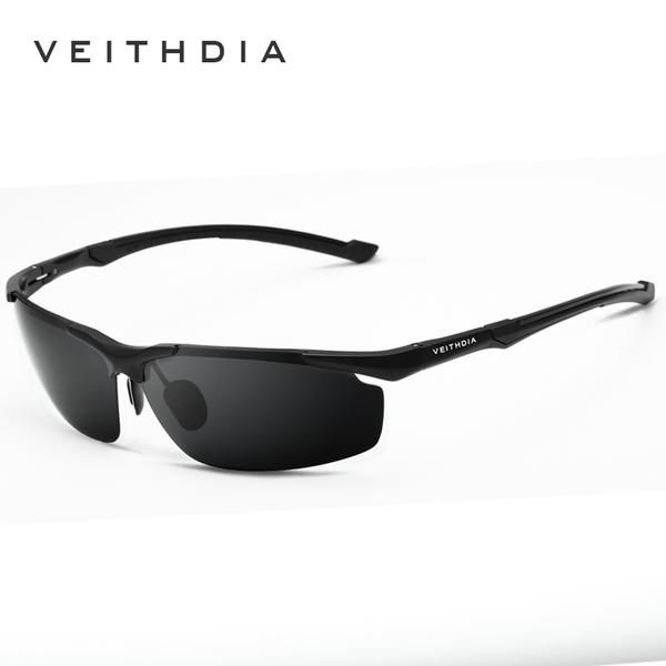 df3cbcc5212 VEITHDIA Brand Rimless Men s Aluminum Magnesium HD Polarized UV400 Sun Glasses  Male Eyewear Sunglasses For Men