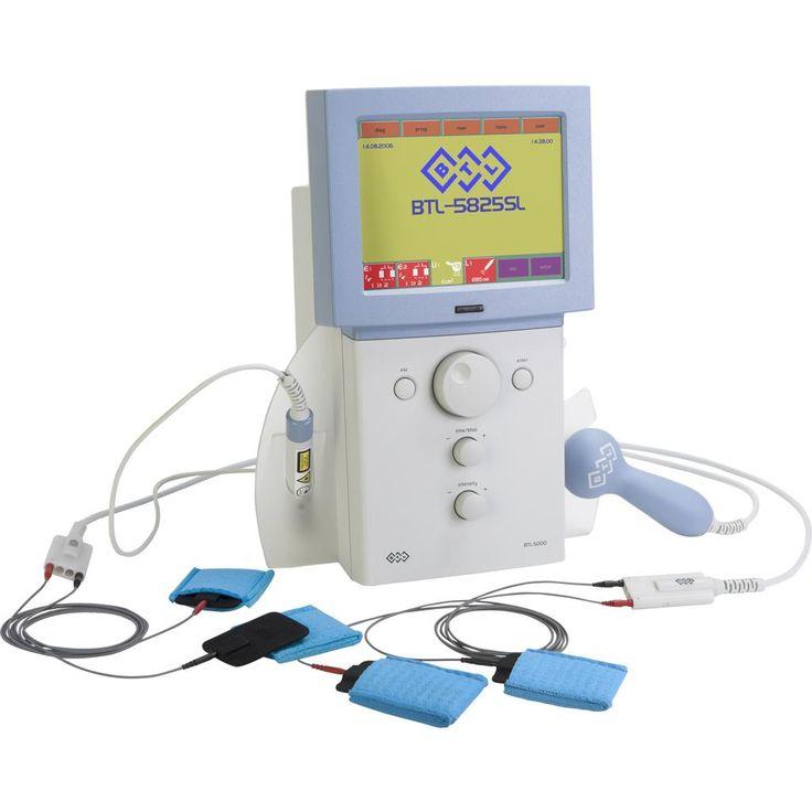 BTL-5825SL Combi 4- kanałowy: 2 x elektroterapia - powiększony zakres prądów, laseroterapia, ultradźwięk
