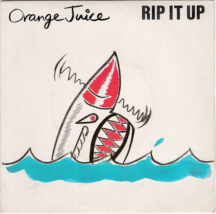 "Orange Juice - Rip It Up, 7"" vinyl, Polydor, c.1983, Edwyn Collins, new wave #vinyl"