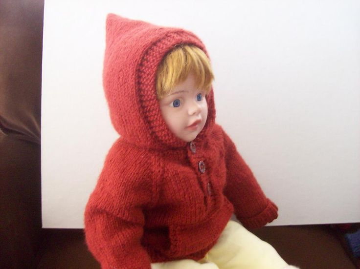 Kangaroo Hoodie Knitting Pattern : Kangaroo Pocket Baby Hoodie Pattern My knitting patterns ...