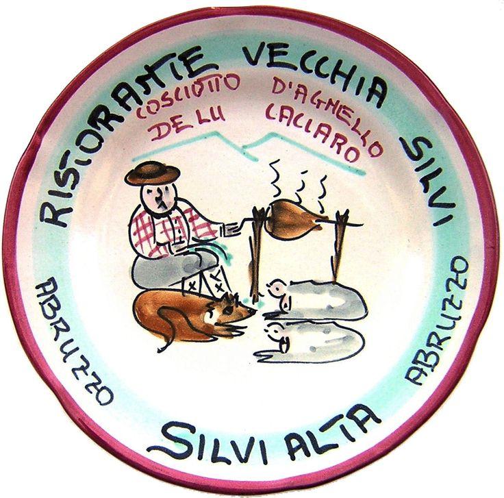 """Silvi Alta - Ristorante Vecchia Silvi: Cosciotto d'agnello """"de lu caciaro"""" (mag. 85 - feb. 01 )"""
