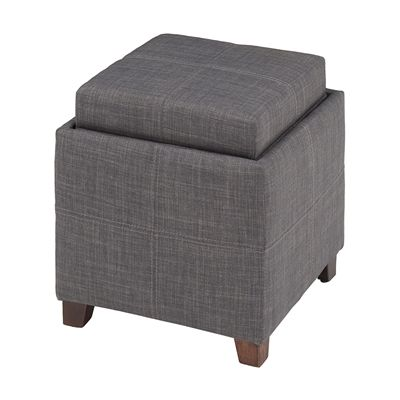 Worldwide Home Furnishings 402-975 WHi Storage Ottoman