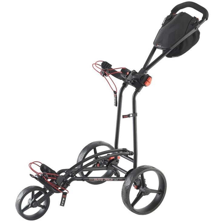 Awarded the prestigious Golf Digest Editor's Choice award this 2017 autofold FF golf trolley push cart by Big Max landed the award for the Best Club Transport category!