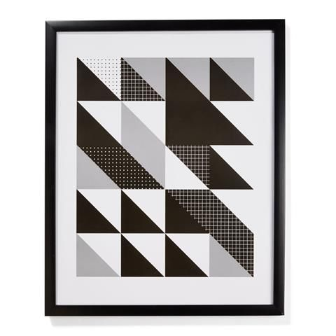 triangles Print homemaker