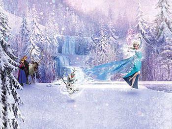 Lumea de poveste din Frozen. Elsa regina gheţii