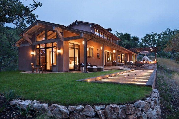 Современный дом посреди дикой природы в Калифорнии - Дизайн интерьеров | Идеи вашего дома | Lodgers