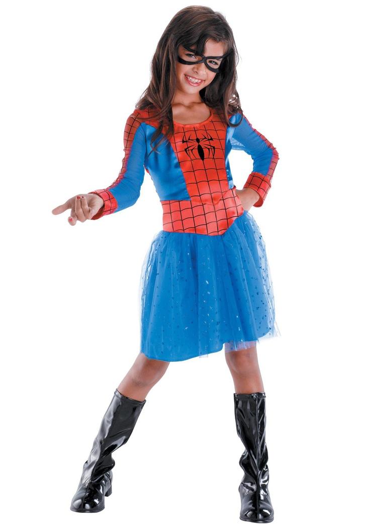 Kids Spider Girl Costume