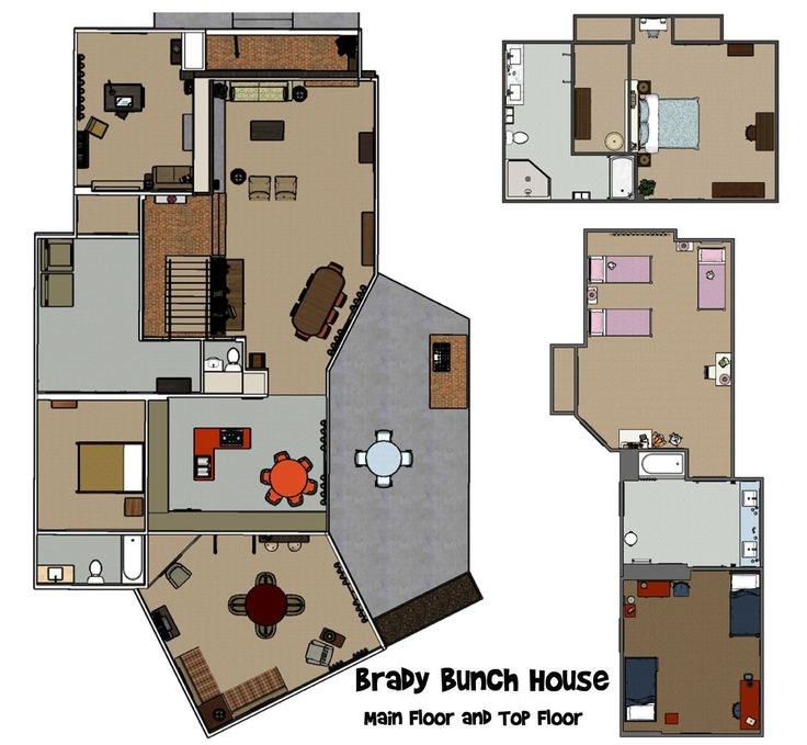 In Depth: The Brady Bunch House #bradybunchhouse (With