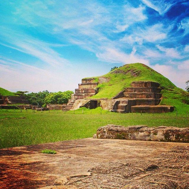 Centro Ceremonial San Andres, El Salvador pais Mundo Maya - Moundo Maya country, CeremonialSite San Andres