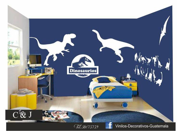 Vinilo Decorativo Dinosaurios  https://www.facebook.com/vinilosdecorativosguatemala