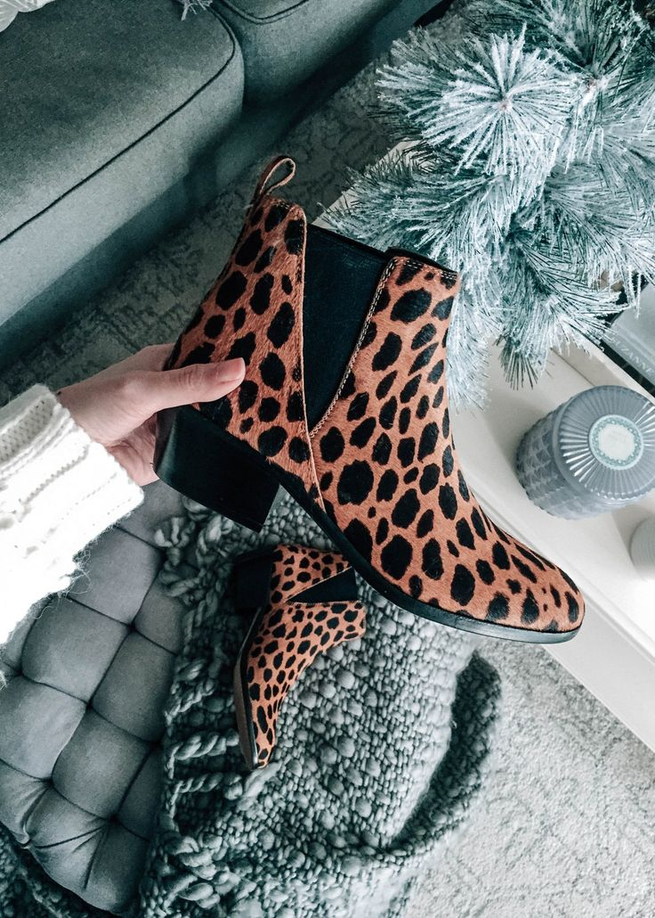 Leopard Print Booties || Party Babbleboxx ft. Vince Camuto, Primal Life Organics, and More. #BboxxPartyReady #ad