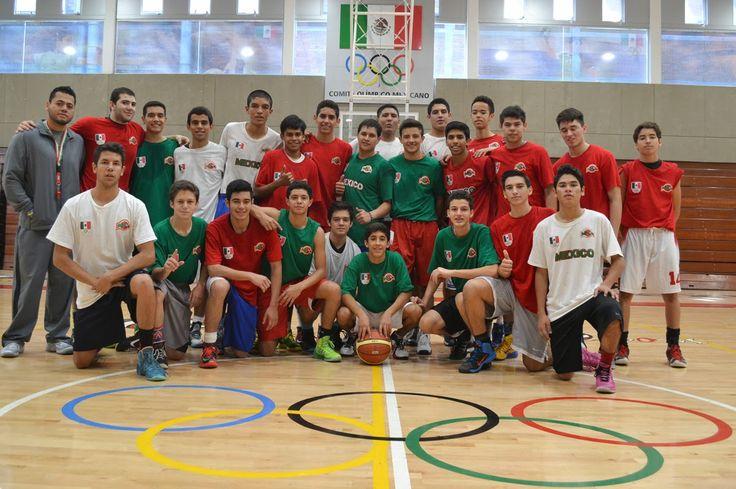 Preselección Mexicana de Basquetbol (U-16) se Prepara Para el COCABA de Panamá ~ Ags Sports