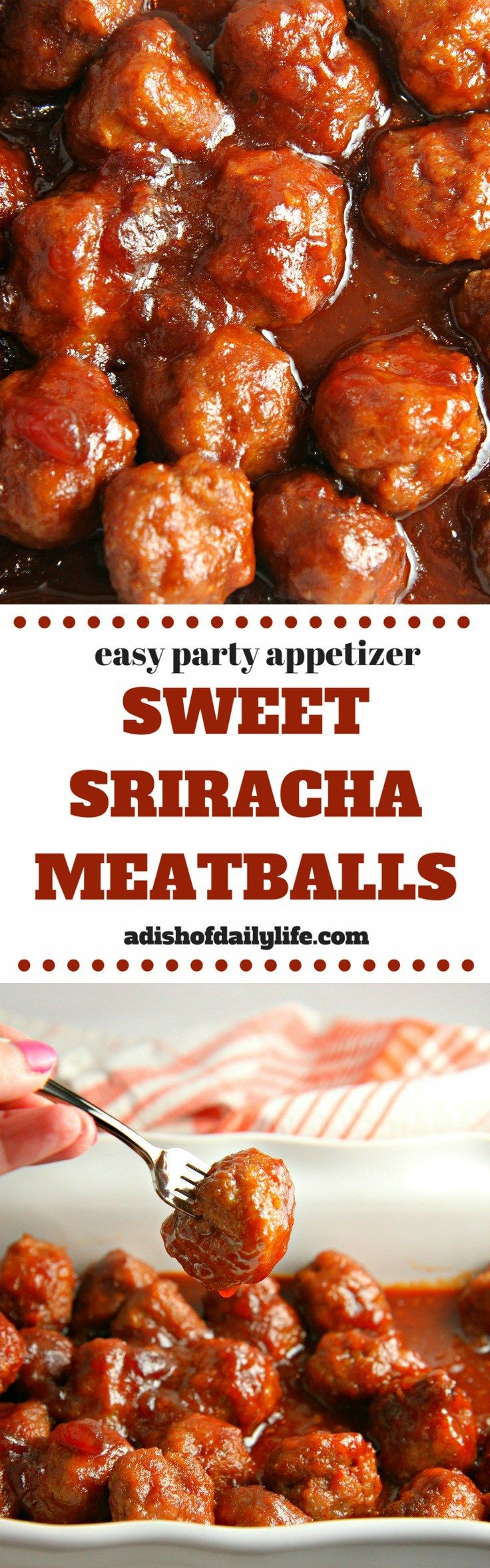 These too-easy Sweet-and-Sour Meatballs are the perfect appetizer for your next party. Meatballs may be thoroughly cooked without sauce and frozen. Thaw and reheat with sauce.