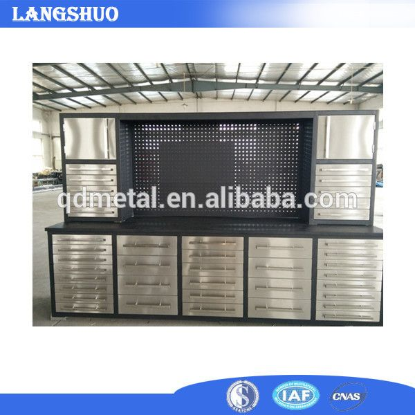 China suppliers stainless steel tool chest cabinet, View stainless steel tool chest, QDLANGSHUO Product Details from Qingdao Langshuo Metal Products Co., Ltd. on Alibaba.com