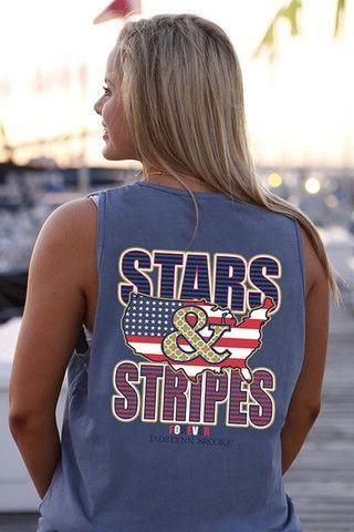 Stars & Stripes Forever - tank | Jadelynn Brooke™