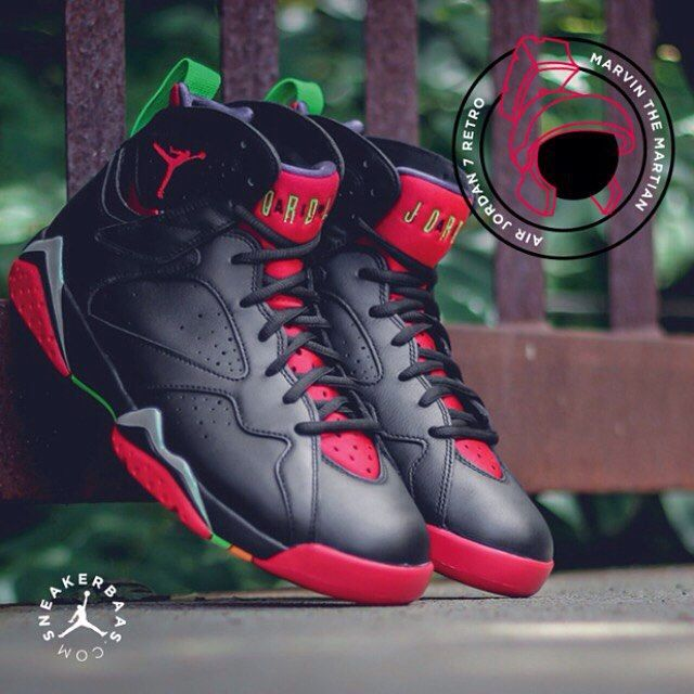 #airjordan #marvinthemartian #retro7 #sneakerbaas #baasbovenbaas  Air Jordan 7 Retro 'Marvin The Martian' - .Even Marvin the Martian, one of the coolest cartoonfigures ever created, returns in a modest coloured version of the Air Jordan 7 Retro.  Now online available ! |Men sizes priced at 174,95 EU |  Wmns sizes priced at 129,95 EU |  Men Sizes 39 - 47 EU Wmns Sizes 40 - 46 EU
