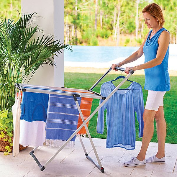 Improvements Wheeled Laundry Drying Rack (490 MAD) ❤ liked on Polyvore featuring home, home improvement, cleaning, air dry, clothes dryer, dryer, drying rack, laundry dryer, laundry rack and wheeled laundry drying rack