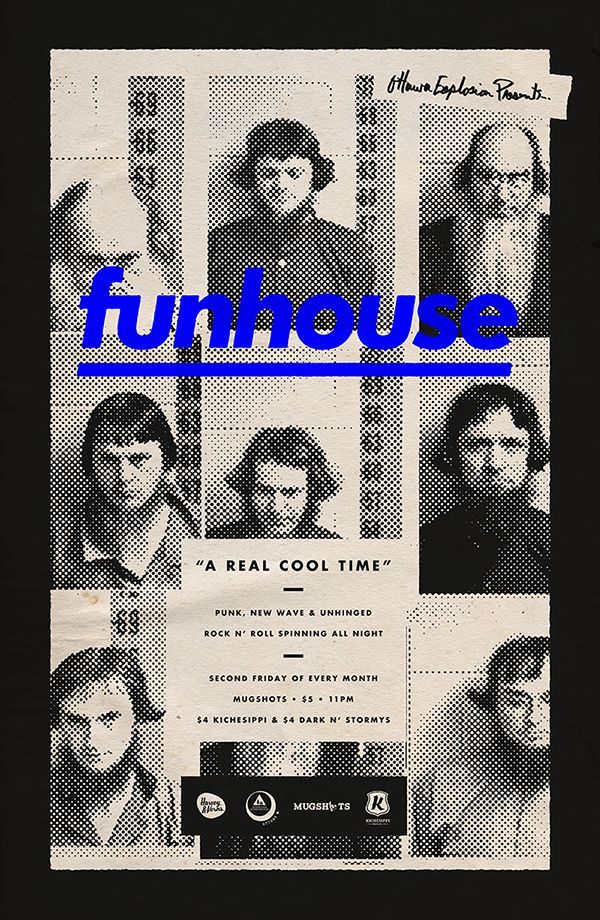 ✖✖✖ funhouse by Michael George Haddad, via Behance ✖✖✖  -- could do something like this for the cover? again suggestions and opinions wanted!
