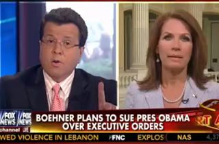Fox's Neil Cavuto and Michele Bachmann Get into Epic Shouting Match: 'You're Being Silly!'