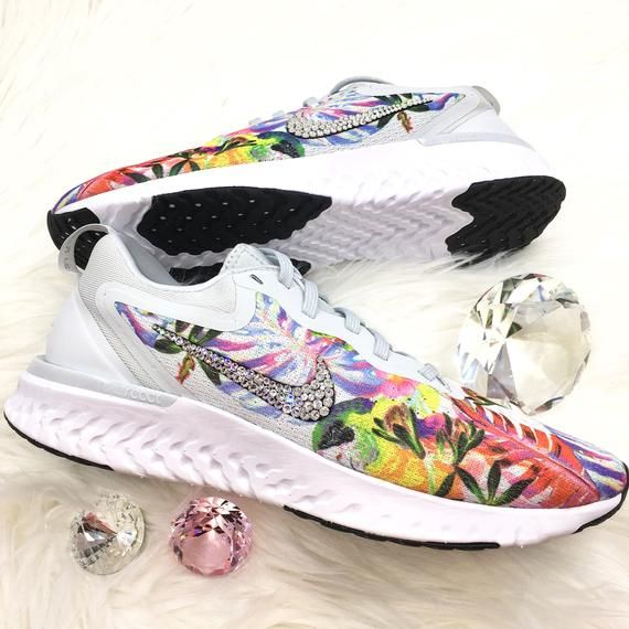 1a22ecd87c94 Brand New Authentic Nike Odyssey React Floral Womens Running Training Shoes  with hundreds of Beautiful