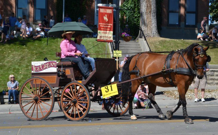 Johnson County Fair and Rodeo Parade