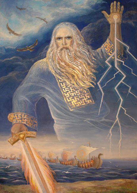 О, могучий Перун, Бог Славянских племён! Ты десницей своей Отрясаешь нам сон. Вновь сразившись со змеем В поднебесье крутом — Возвращаешь нам память О РОДе своём