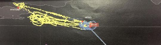 15 Temmuz gecesinin radar izleri Ankara Cumhuriyet Başsavcılığı tarafından, Fetullahçı Terör Örgütü (FETÖ) mensuplarınca, 15 Temmuz darbe girişiminin başarısız olmasının ardından silinen uçak ve helikopterlerin uçuş kayıtları (radar izleri) ile silah-mühimmat yükleri özel bir yöntemle tek tek tespit edildi.