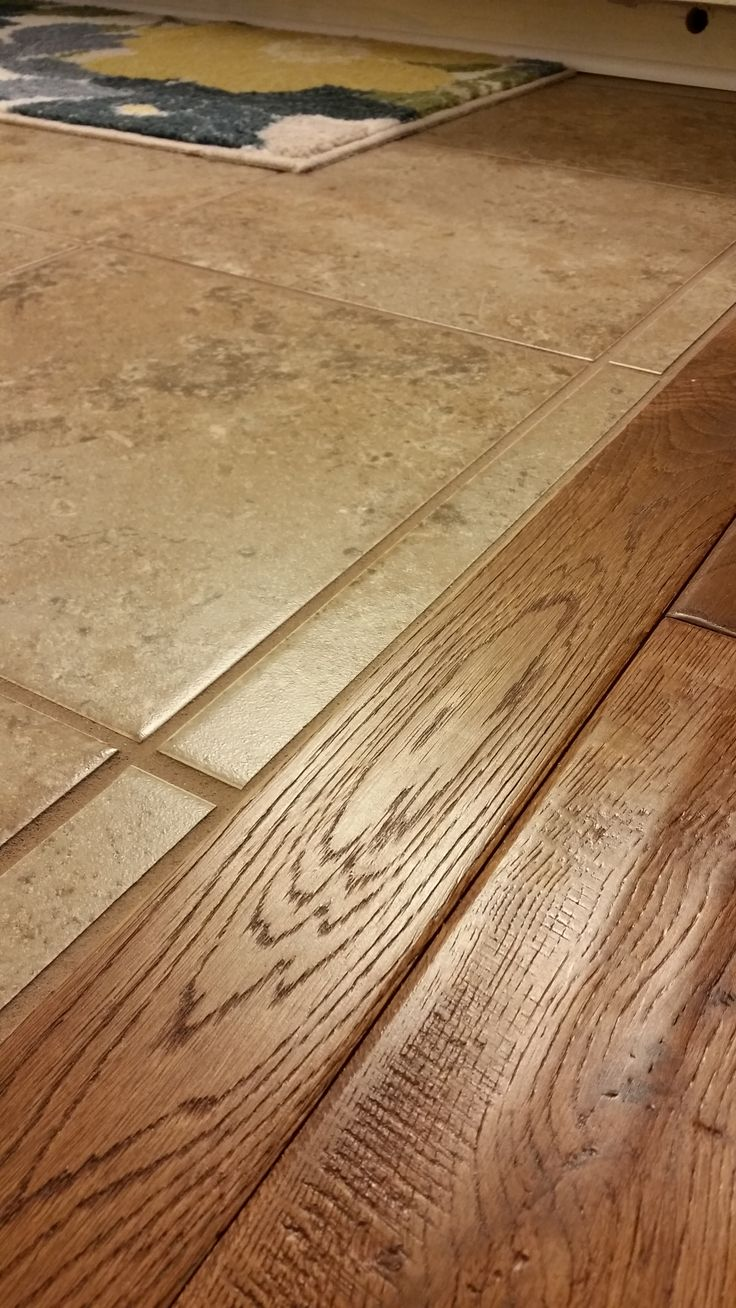 problems where carpet and tile meet