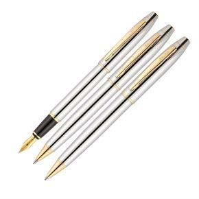 Scrikss 35 3 Lü Kalem Takım Gold Krom