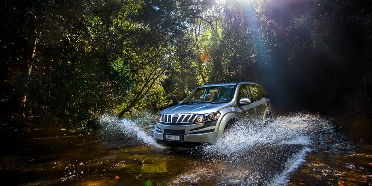 National Print Ad Campaign for Mahindra Automotive