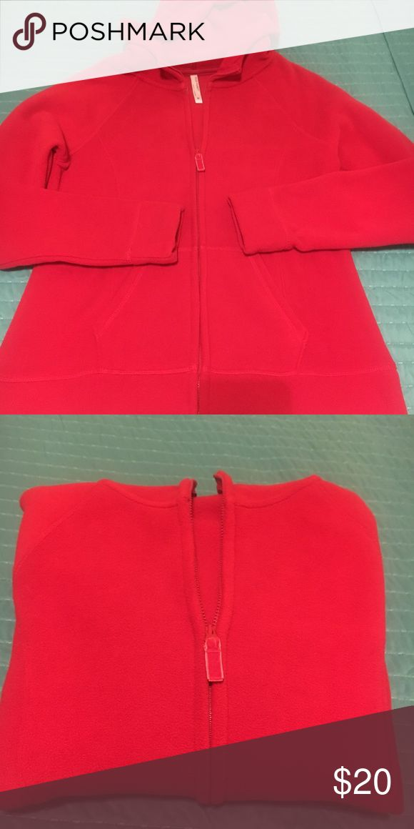 Old Navy Fleece hoodie 100% polyester                                                              never worn                                                                    super soft.                                                                      great fall jacket Old Navy Jackets & Coats