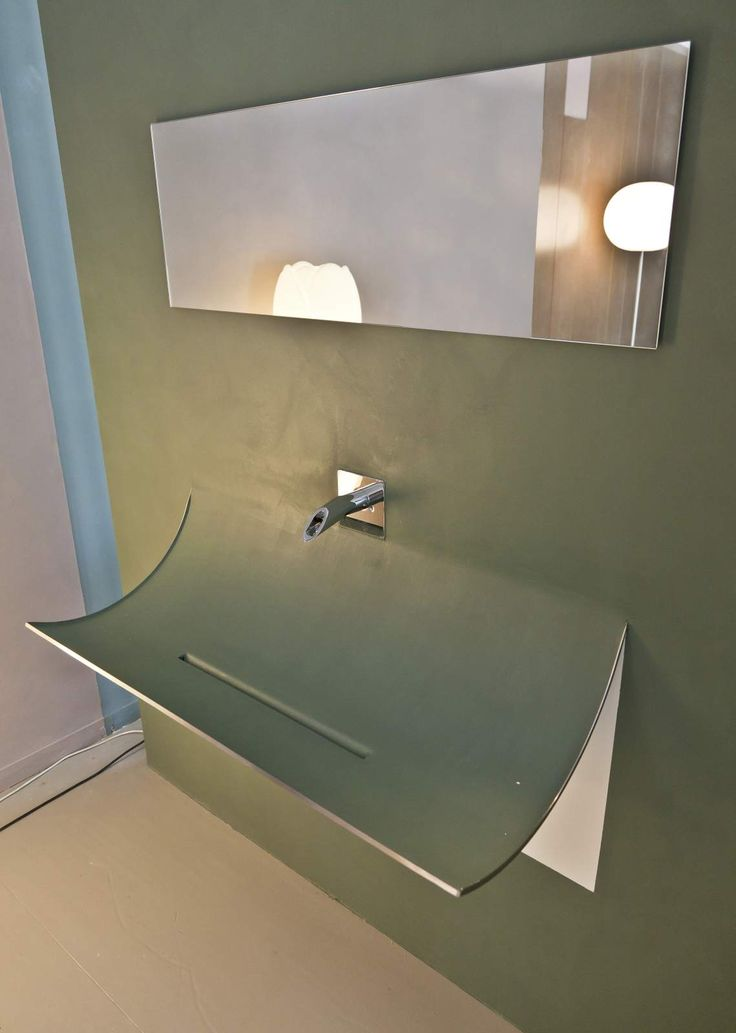 Skin Basin: Wall covering that detaches like a skin. #lagodesign #interiorlife #basin #skin #wallcovering