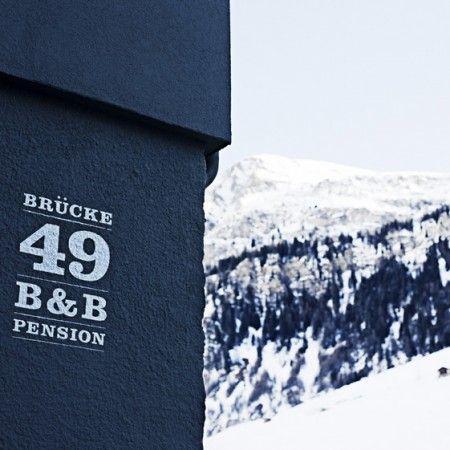 Brücke 49 homely B&B in Vals, Switzerland   FUTU.PL