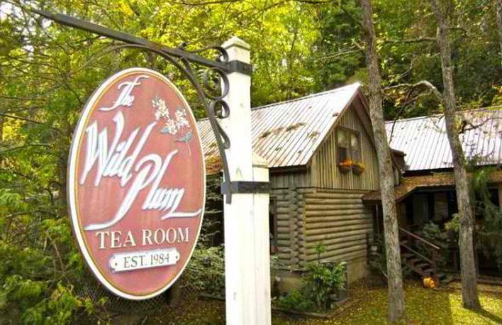 Wild Plum Tea Room. Gatlinburg vegan restaurants, Gatlinburg vegetarian restaurants and Gatlinburg gluten free restaurants. Dog friendly Gatlinburg restaurants.