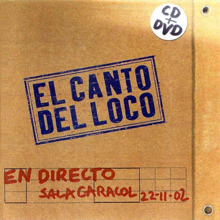 Carátula Cd de El Canto Del Loco - En Directo Sala Caracol