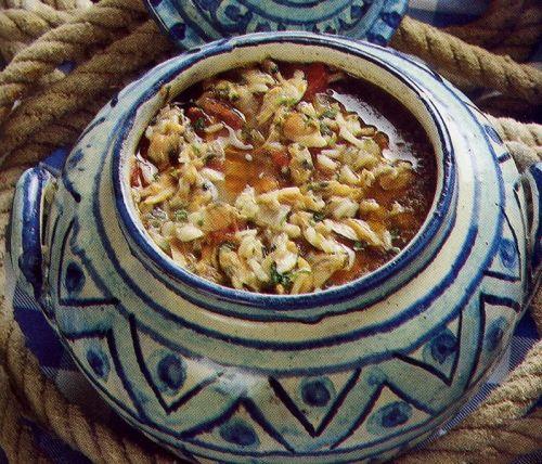 Canja ou Sopa de Conquilhas-algarve