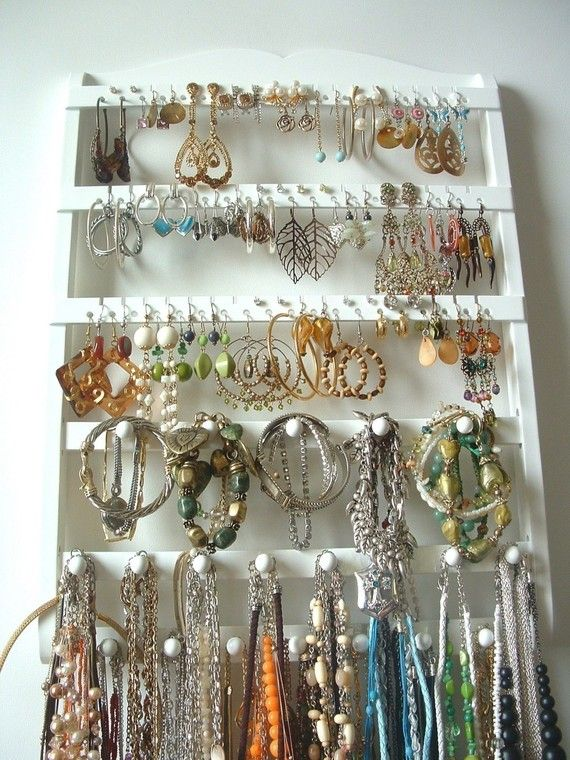 78 best jewelry holders displays images on Pinterest Good ideas