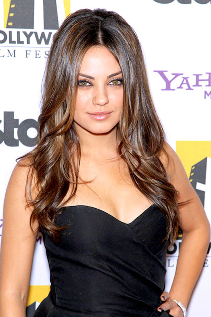 50 best ombre hair color ideas herinterest - Find This Pin And More On Famosos Mila Kunis Love Her Hair Color