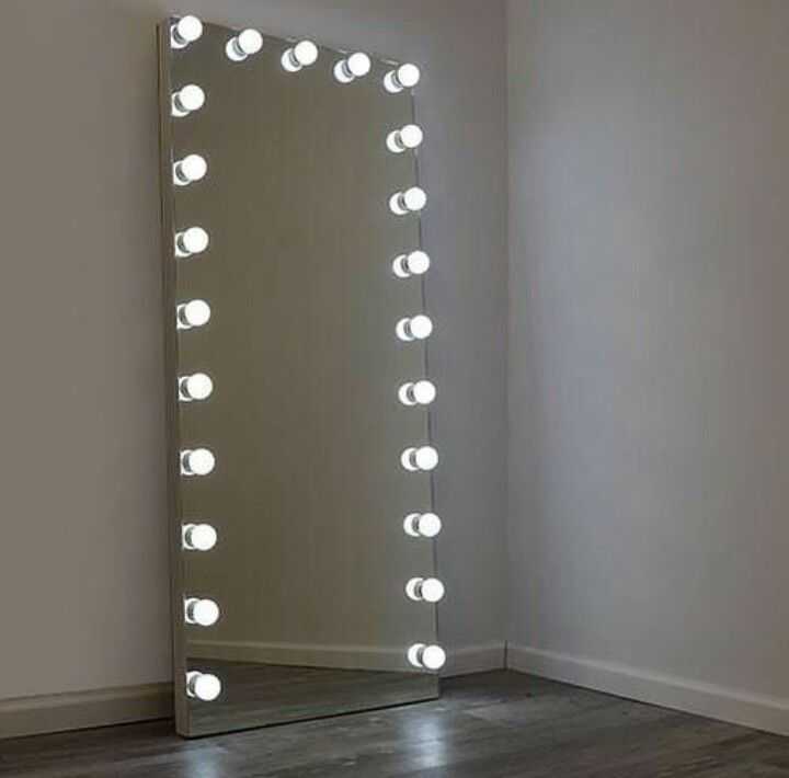 Pin By Anto Suarez On Home Decor Floor Mirror With Lights Full Length Floor Mirror Long Mirror With Lights