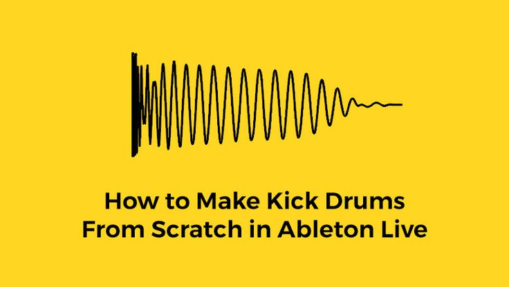Looking for kick drum that perfectly fits your bassline? Learn how to make kick drums from scratch in Ableton Live using Operator and Simpler/Sampler.