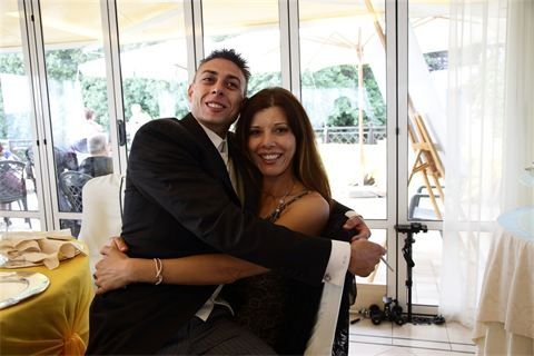 Lo sposo : The groom