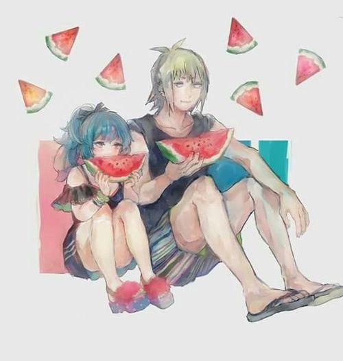 Saiko and Shirazu