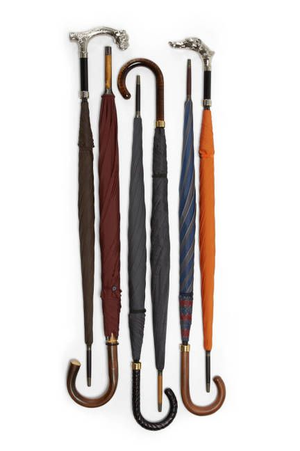 Fox Umbrellas. Simple, tasteful, and manly (you should always be consciously striving for these three traits).