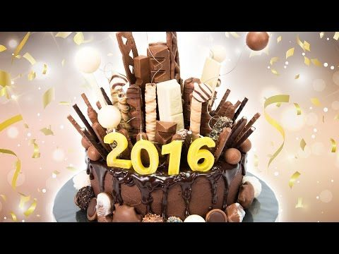 New Years Eve Chocolate Explosion Cake from Cookies Cupcakes and Cardio - YouTube