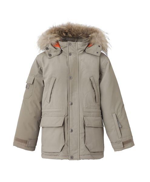 VER de TERRE | Eskimo down jacket w/fur 2-16 yrs