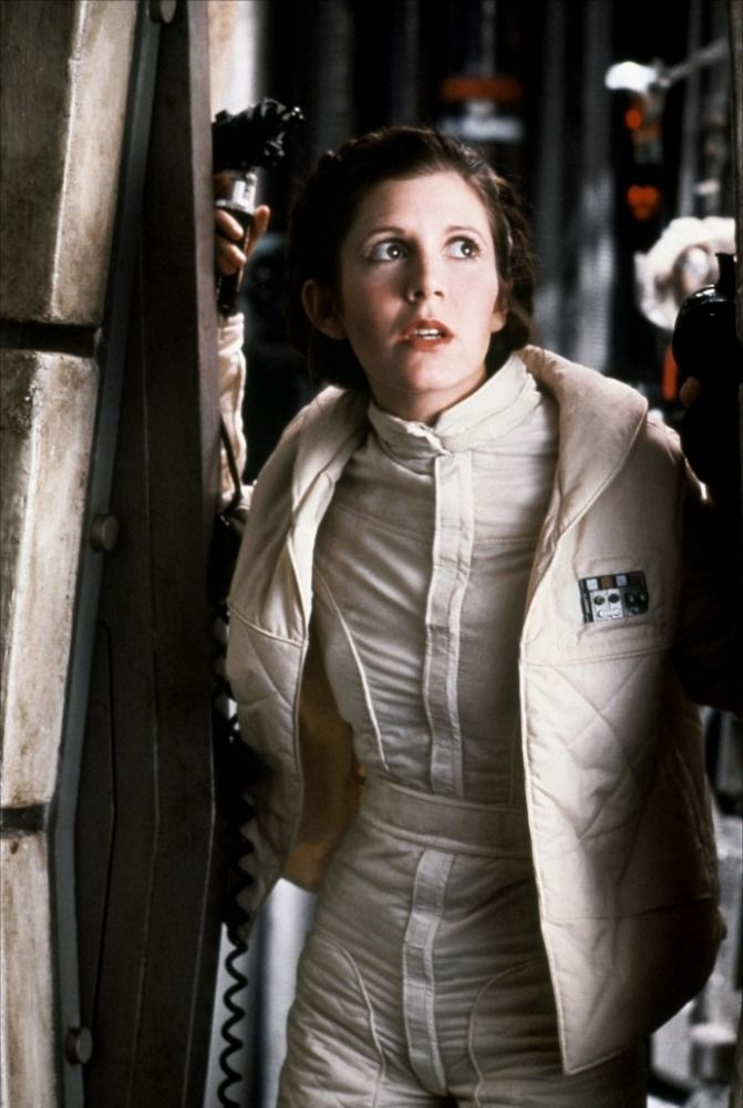 Carrie Fisher in Star Wars: The Empire Strikes Back (1980)