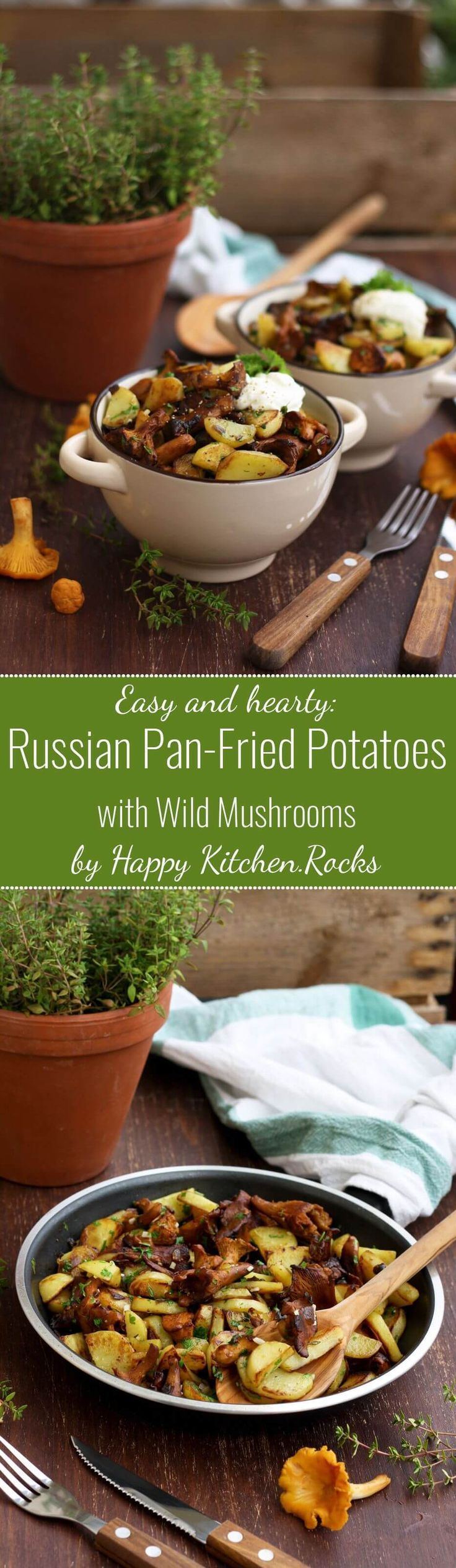 43 best russian food recipes images on pinterest russian recipes russian pan fried potatoes with wild mushrooms onions garlic and herbs are super flavorful hearty and comforting this easy step by step recipe only forumfinder Image collections