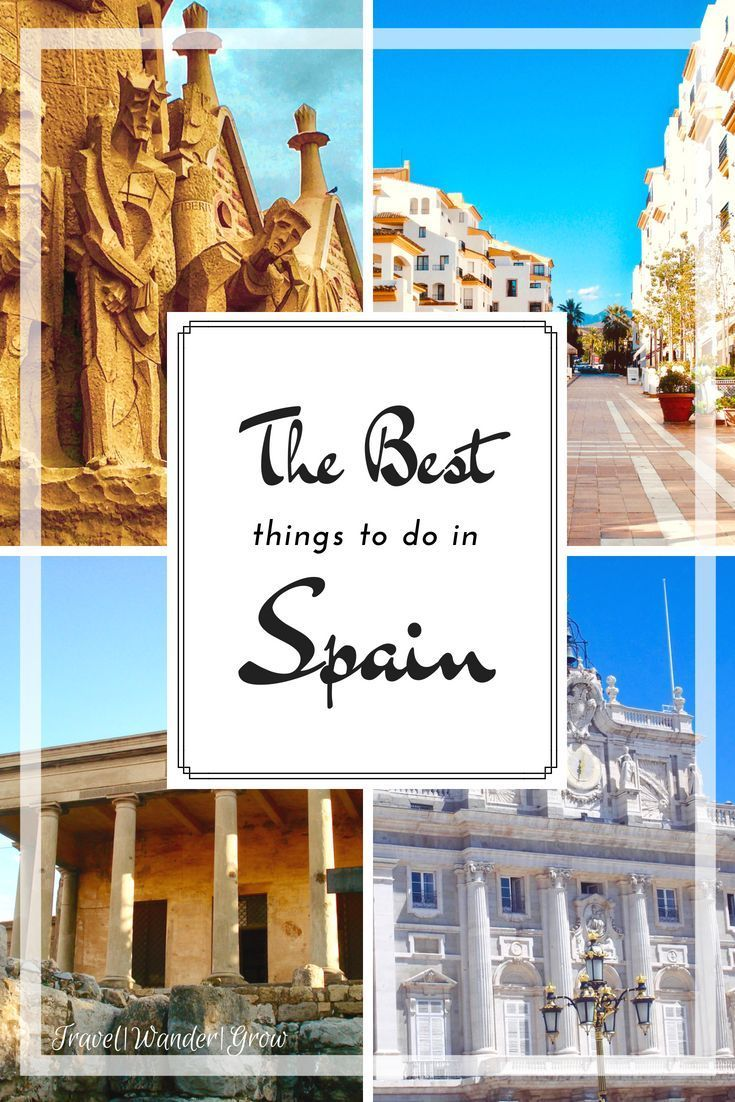The Best Places To Visit In Spain A Multi City Mini Guide Cool Places To Visit Places To Visit Spain