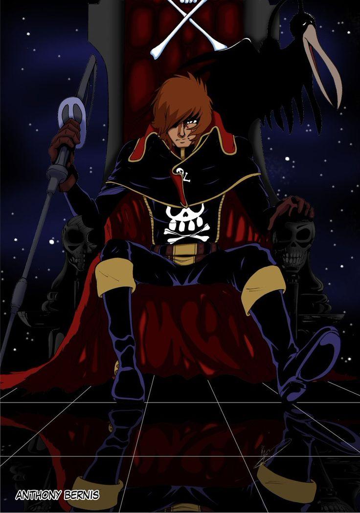 Captain Harlock by Anthony Bernis